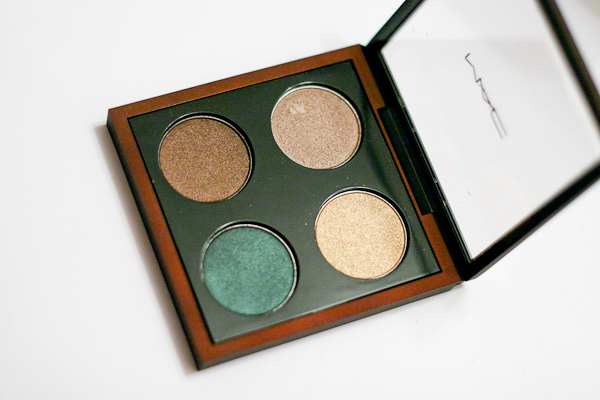 MAC Bare My Soul Eyeshadow Quad, part of the Temperature Rising collection (summer 2013).