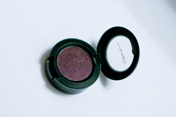 MAC Eyeshadow in Brazenly, from the Nudes and Metallics Collection.