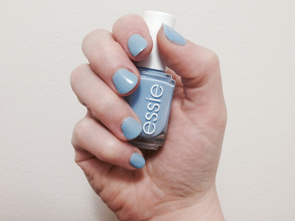Bikini So Teeny Nail Polish by Essie.