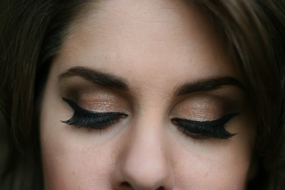 An eye look courtesy of JMO at Sephora (Pacific Centre, Vancouver).