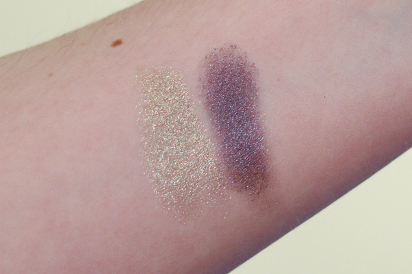 NARS Kauai Eyeshadow Duo swatches.