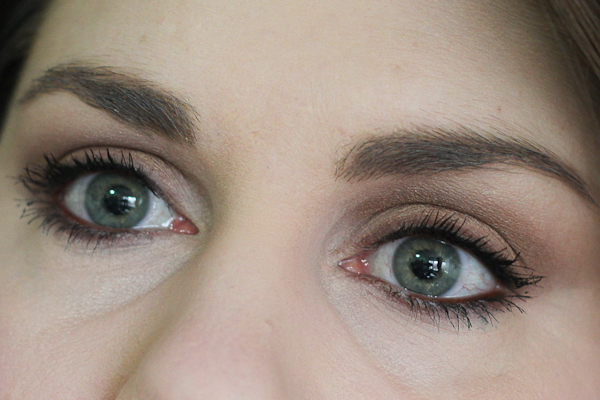 An eye look with MAC Woodwinked and Mulch.