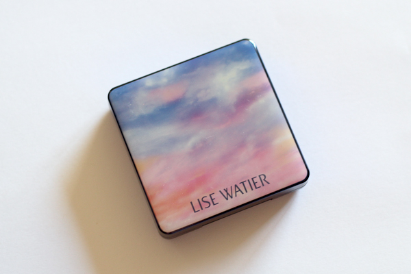 Lise Watier's Imagine Blush features a pretty sunset graphic on the outside.