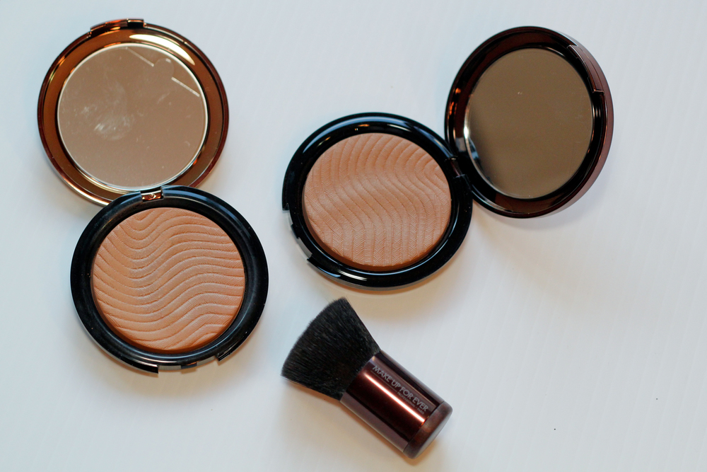 Make Up For Ever Pro Bronze Fusion Bronzer and Kabuki