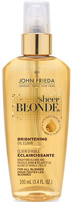 John Frieda Sheer Blonde Brightening Oil Elixir