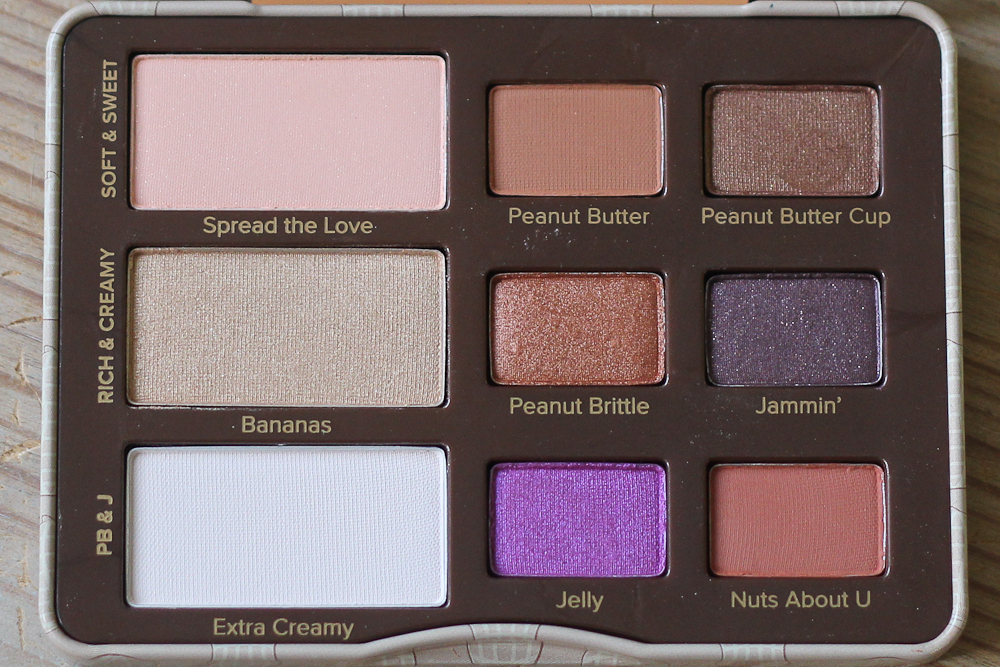 Too Faced Peanut Butter Jelly