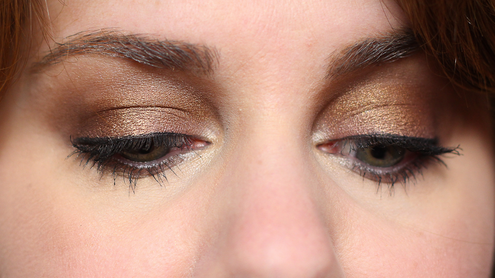 An eye of the day with Morphe's 35F Eyeshadow Palette.