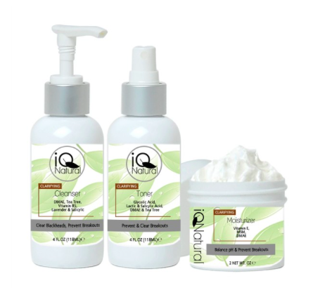 IQ Natural Clarifying Trio.
