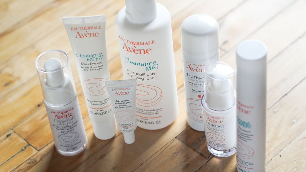 Several products from the Eau Thermale Avène line have transformed my skin.