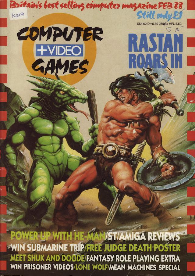 This month in    C&VG '88 — Ziggurat