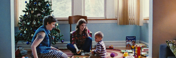 Lena Dunham and Anna Kendrick in  Happy Christmas  {Photo: MAGNOLIA PICTURES}