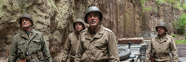 A scene from George Clooney's  The Monuments Men  {Photo: COLUMBIA PICTURES}