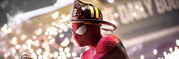An example of one of the more comic scenes inThe Amazing Spider-Man 2{Photo: SONY PICTURES}