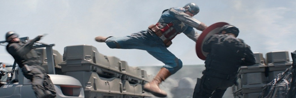 A scene from  Captain America: The Winter Soldier  {Photo: WALT DISNEY PICTURES}