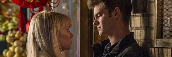 Emma Stone and Andrew Garfield in  The Amazing Spider-Man 2  {Photo: SONY PICTURES}