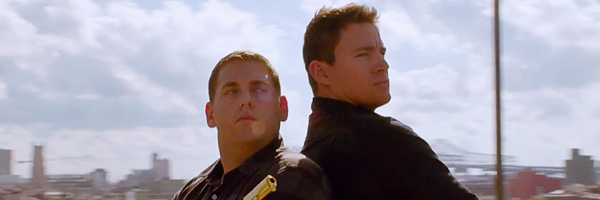 Jonah Hill and Channing Tatum in  22 Jump Street  {Photo: COLUMBIA PICTURES}
