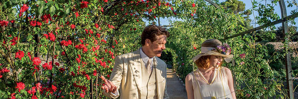 Colin Firth and Emma Stone in a scene from Woody Allen's  Magic in the Moonlight  {Photo: SONY PICTURES CLASSICS}