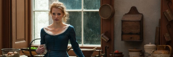 Jessica Chastain in a scene from Liv Ullmann's  Miss Julie  {Photo: WREKIN HILL ENTERTAINMENT}