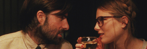 Jason Schwartzman and Dree Hemingway in  a scene from Alex Ross Perry's Listen Up Philip {Photo: TRIBECA FILM}