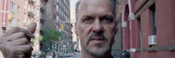 Michael Keaton in a scene Alejandro González Iñárritu's  Birdman  {Photo: FOX SEARCHLIGHT}