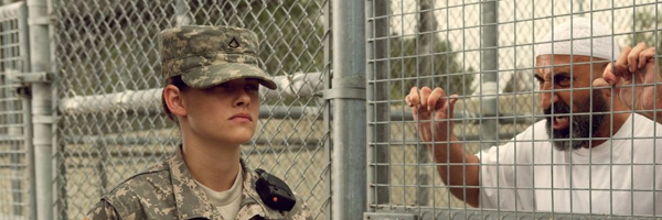 Kristen Stewart in a scene from Peter Sattler's  Camp X-Ray  {Photo: IFC FILMS}
