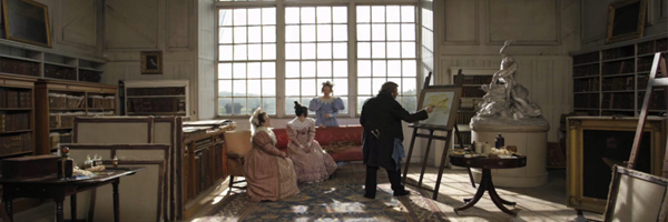 A scene from Mike Leigh's Mr. Turner {Photo: SONY PICTURES CLASSICS}