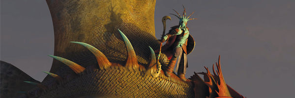 A scene from Dean DeBlois'  How to Train Your Dragon 2  {Photo: DREAMWORKS PICTURES}