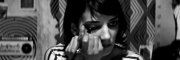 A scene from Ana Lily Amirpour's A Girl Walks Home Alone at Night {Photo: KINO-LORBER)