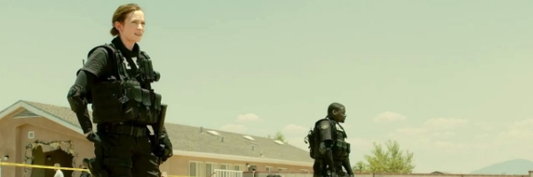 Emily Blunt in a scene from Denis Villeneuve  Sicario  (Photo: LIONSGATE FILMS}