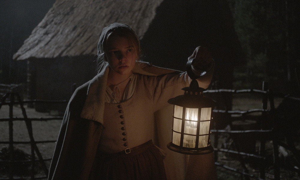 Anya Taylor-Joy in a scene from Robert Eggers' The Witch {Photo: A24}