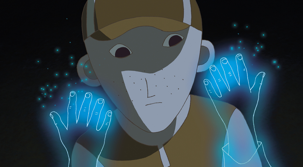 A scene from Jean-Loup Felicioli and Alain Gagnol's  Phantom Boy  {Photo: GKIDS}