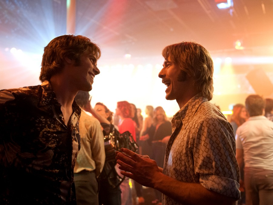 Blake Jenner and Glen Powell in a scene from Richard Linklater's  Everybody Wants Some!!  {Photo: PARAMOUNT PICTURES}