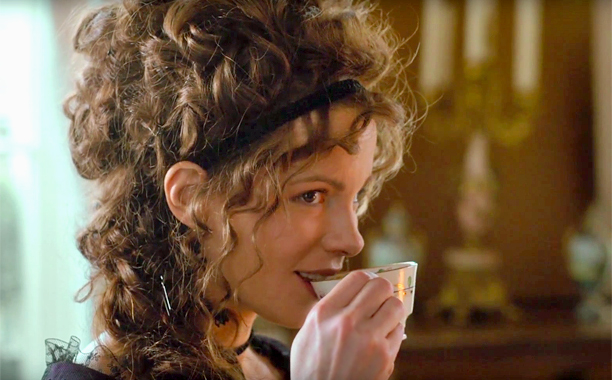 Kate Beckinsale in a scene from Whit Stillman's  Love & Friendship  {Photo: ROADSIDE ATTRACTIONS}