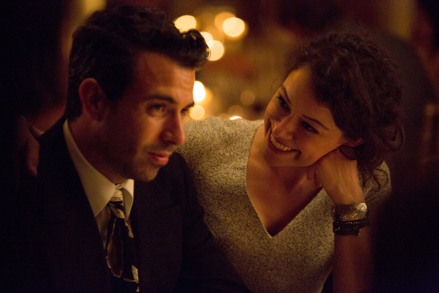 Tom Cullen and Tatiana Maslany in a scene from Joey Klein's  The Other Half  {PHOTO:  D-GENERATE FILMS}