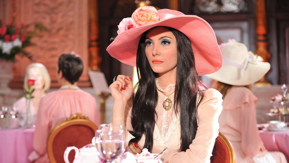 Samantha Robinson in Anna Biller's The Love Witch {Photo: OSCILLOSCOPE LABROTORIES}