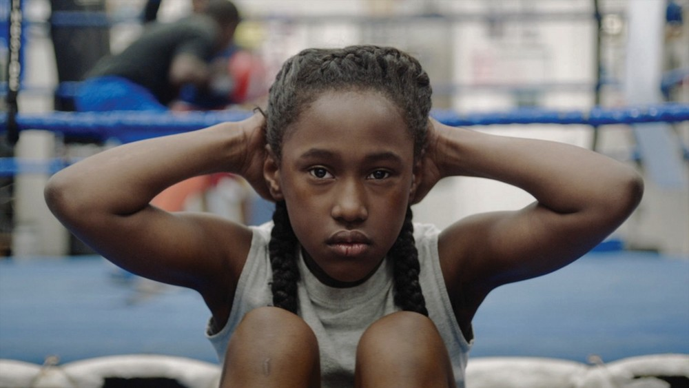 Royalty Hightower in a scene from Anna Rose Holmer's The Fits {Photo: OSCILLOSCOPE)