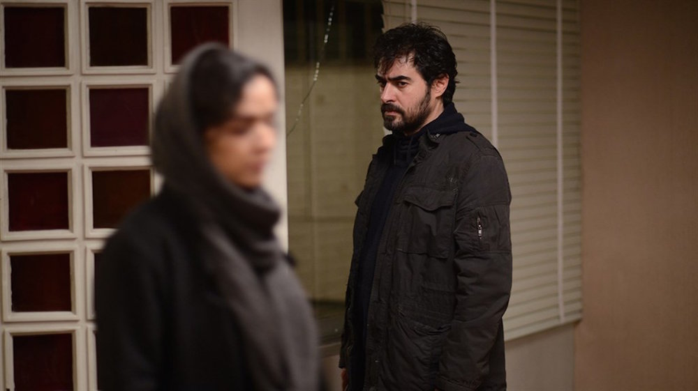 Shahab Hosseini and Taraneh Alidoosti in a scene from Asghar Farhadi's  The Salesman  {Photo: AMAZON STUDIOS}