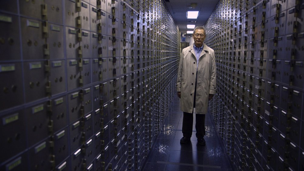Thomas Sung, in a scene from Steve James'  Abacus: Small Enough to Jail  {Photo: KARTEMQUIN FILMS}