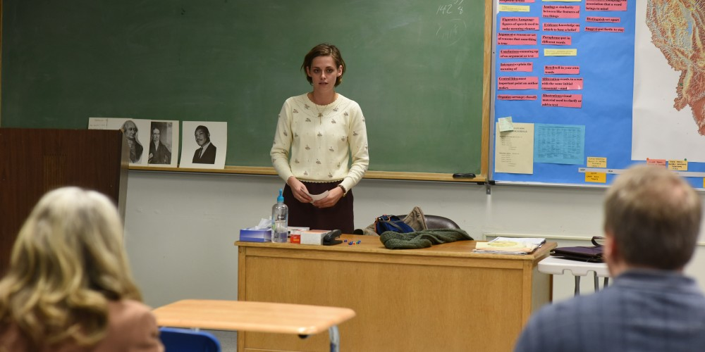 Kristen Stewart in a scene from Kelly Reichardt's Certain Women {Photo: IFC FILMS}