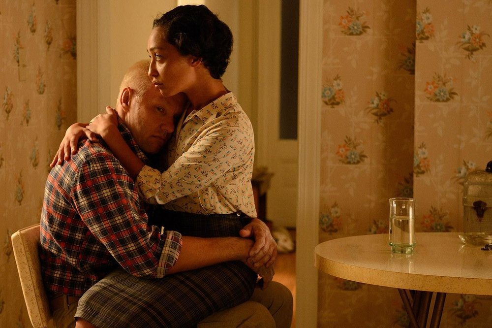 Joel Edgerton and Ruth Negga in a scene from Jeff Nichols'  Loving  {Photo: FOCUS FEATURES}
