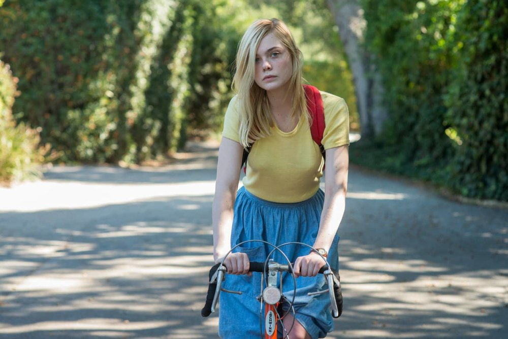 Elle Fanning in a scene from Mike Mills'  20th Century Women  {Photo: A24}