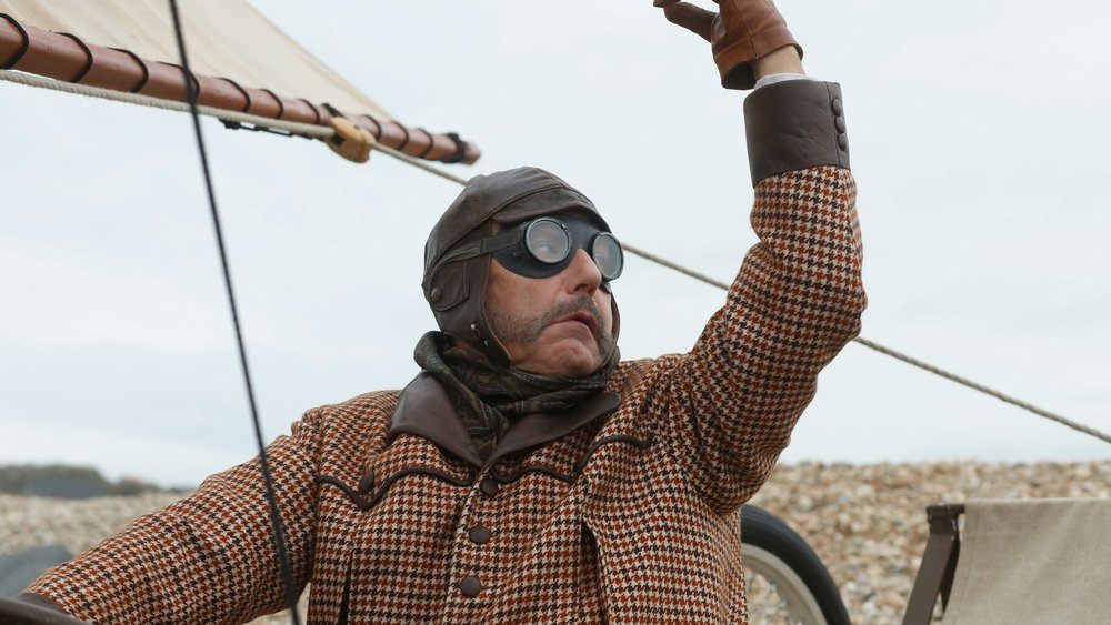 Fabrice Luchini in a scene from Bruno Dumont's  Slack Bay  {Photo: FILM MOVEMENT}