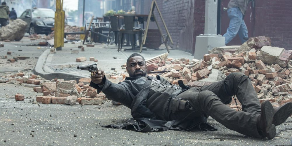 Idris Elba, surviving the wreckage that is  The Dark Tower  {Photo: COLUMBIA PICTURES}