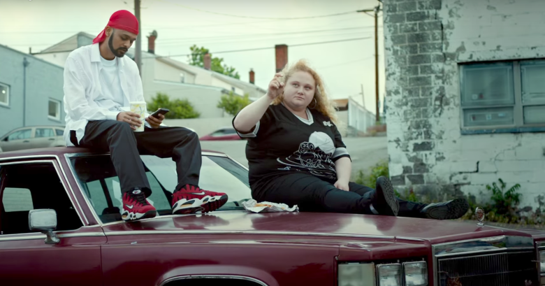Siddharth Dhananjay and Danielle Macdonald in a scene from Geremy Jasper's Patti Cake$ (Photo: FOX SEARCHLIGHT)