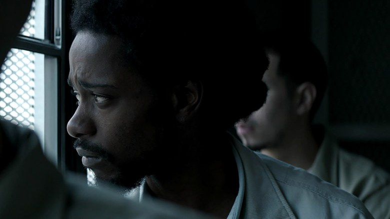 Lakeith Stanfield in a scene from Matt Ruskin's  Crown Heights  {Photo: AMAZON STUDIOS/IFC FILMS}