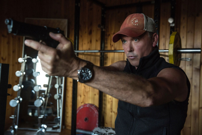 Michael Keaton in a scene from Michael Cuesta's  American Assassin  {Photo: LIONSGATE}