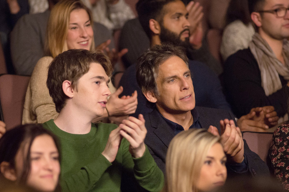 Austin Brahms and Ben Stiller in a scene from Mike White's  Brad's Status  {Photo: AMAZON STUDIOS}