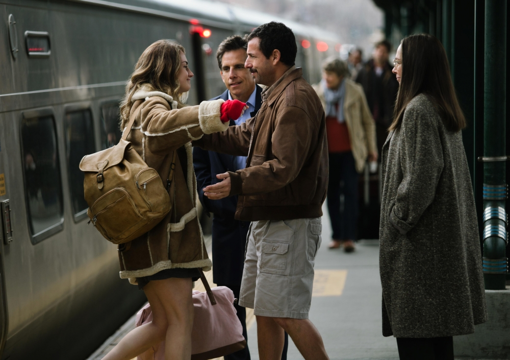 A scene from Noah Baumbach's  The Meyerowitz Stories (New and Selected)  {Photo: NETFLIX}