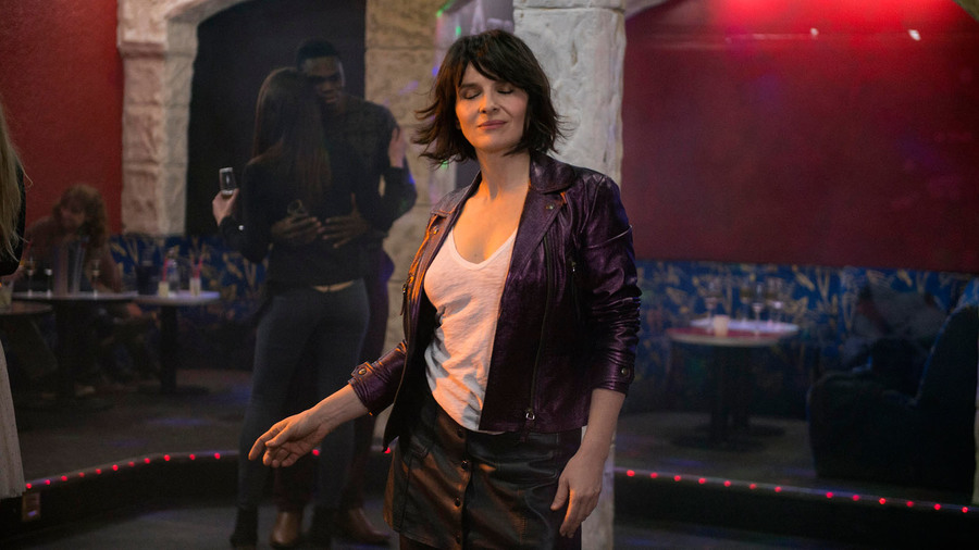 Juliette Binoche in a scene from Claire Denis'  Let the Sunshine In  {Photo: SUNDANCE SELECTS}