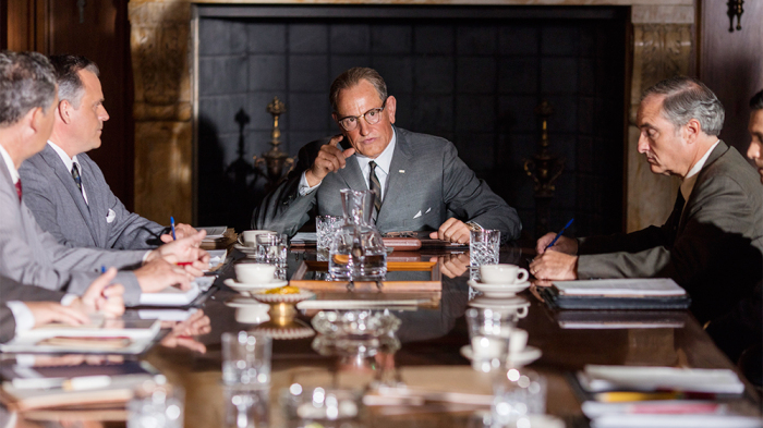 Woody Harrelson in a scene from Rob Reiner's  LBJ  {Photo: CASTLE ROCK ENTERTAINMENT}